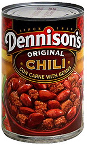 Dennison's, Original Chili Con Carne with Beans, 15oz Can (Pack of 6)