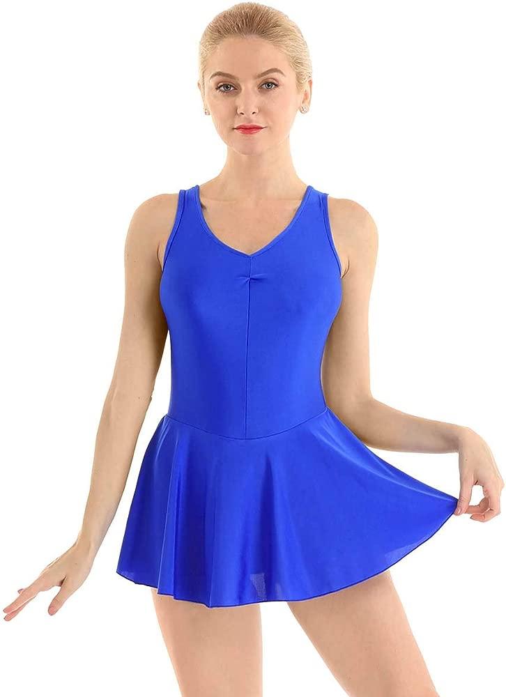 inhzoy Maillot de Ballet Clásico para Mujer Vestido de Danza ...