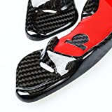 Pure Real Carbon fiber Steering Wheel Gear Paddle Shifter...