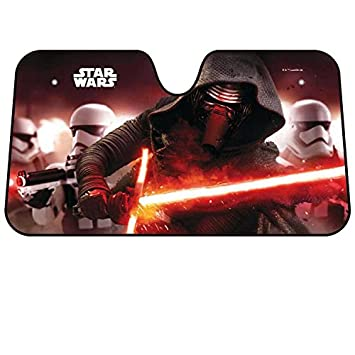 Japan Disney Official Star Wars the Force Awakens - Kylo Ren   Stormtrooper  Black Car Window 6f45e99d630
