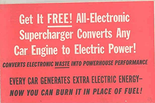 1959 Electronic Supercharger Brochure 1952 1958 Plymouth 1957 Chevr
