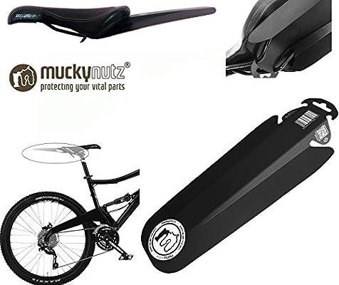 Mucky Nutz Butt Fender guardabarros de sillín de bicicleta negro ...