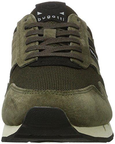 Bugatti 322308013500, Zapatillas para Hombre Verde (Dark Green)