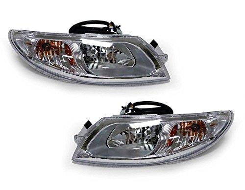Headlight Headlamp Pair Set International Truck 4100 4200 4300 4400 8500 8600