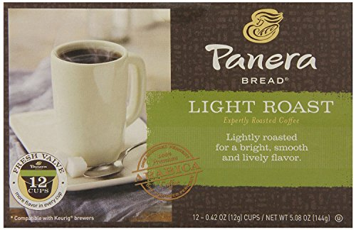 Panera Bread  K Cup Single Serve Coffee  12 Count  5 08Oz Box  Pack Of 3   Choose Flavors Below   Light Roast