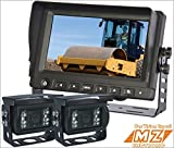 "7"" Digital Rear View Backup Reverse 2-camera System Kit for Agriculture Farm Tractor Cab Cctv"