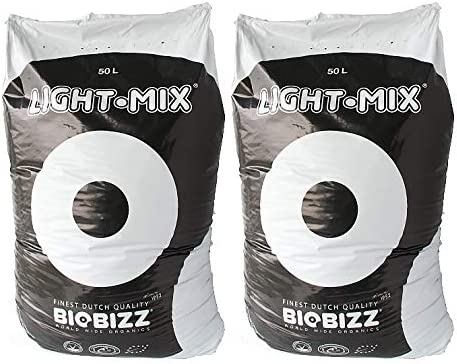 BioBizz Light-Mix - Sustrato con perlita, 100 litros