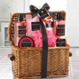 Floral Bouquet Spa Basket Set