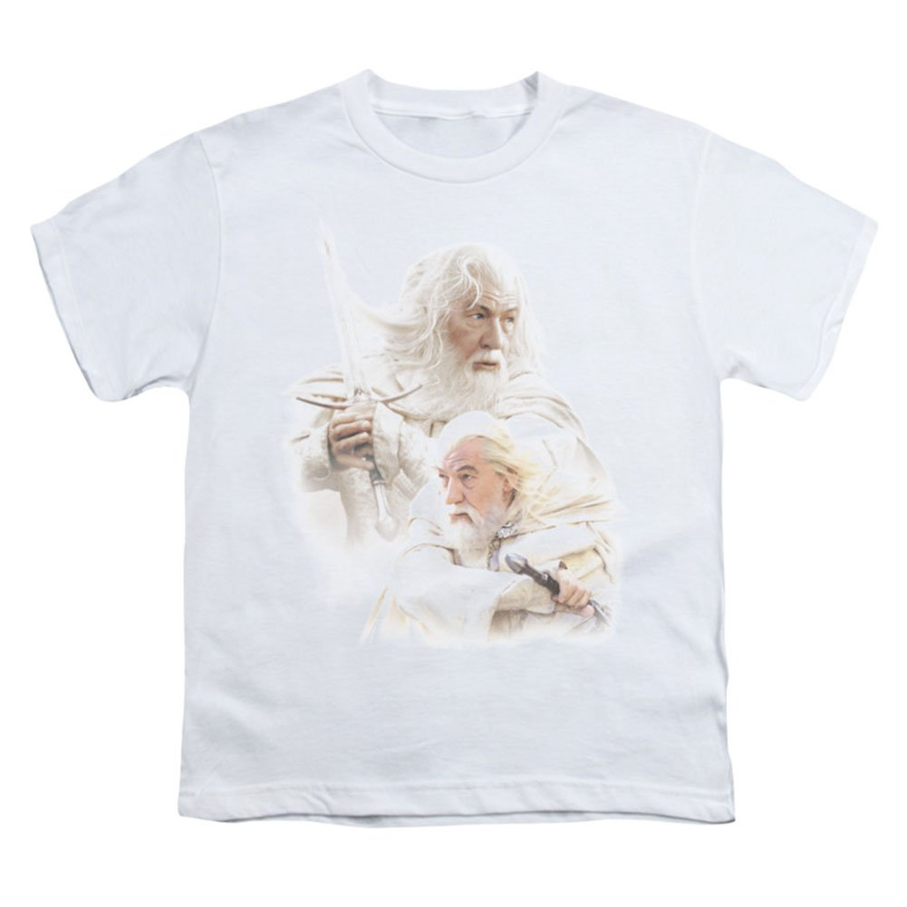 Gandalf the White Kids T-Shirt Size YM Lord of the Rings Youth
