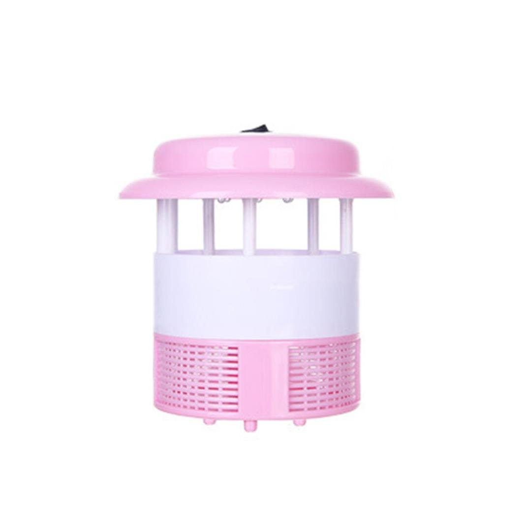 Mosquito Killer Mosquito Repeller Electric Pest Control Fly Bug Insect Killer Silent and Cute Design, Safe for Child Pregnant Women for Home Restaurant Hotel Gessppo (Pink)