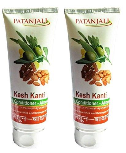 Patanjali Kesh Kanti Hair Conditioner Almond100gm (Pack of 2) - Pamherbal®