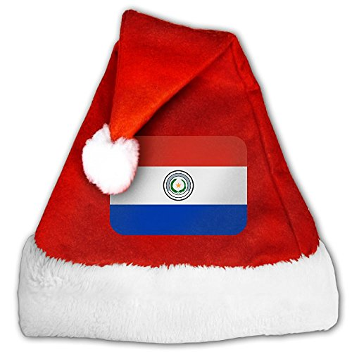 Paraguay Costume For Women (ODLS7 Paraguay Christmas Gifts Hats Santa Hats Fashion Holiday Home Party Decorations For Kids Adult)