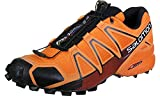 Salomon Men's Speedcross 4 Trail Running Shoes Flame / Black / Red Dahlia 12.5 review