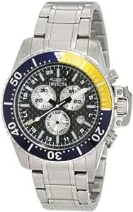 Invicta Men's 11280 Pro Diver Chronograph Black Carbon Fiber Watch