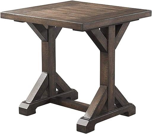 Abbey Avenue Quinn Trestle End Table