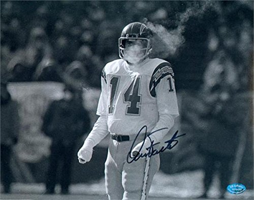 Autograph 124668 San Diego Chargers Image No. Sc5 Freezer Bowl Dan Fouts Autographed 8 x 10 in. Photo ()