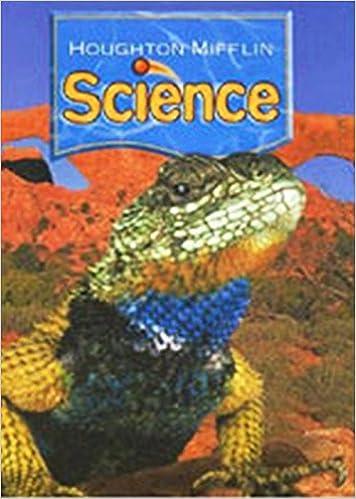 Houghton Mifflin Science: Student Edition Single Volume Level 4 ...