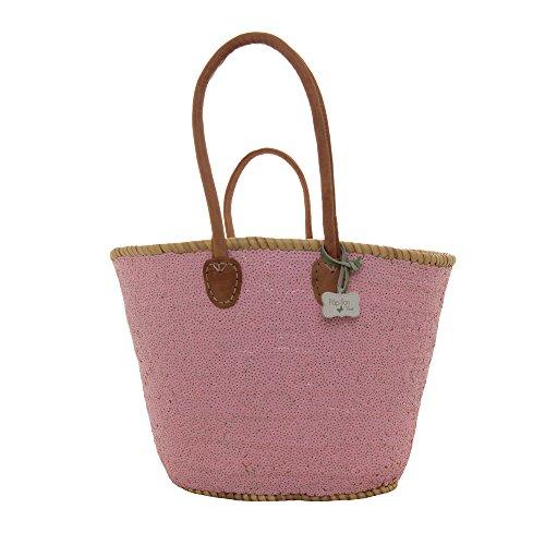 Stella Sequin Basket Pink