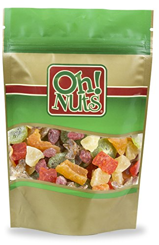 Dried Fruit Salad Tropical Sweetened – Oh! Nuts (1LBS Mixed Dried Fruit) Review