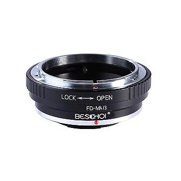 FD para Micro 4/3, Beschoi Adaptador de Montaje de Lente para Canon ...