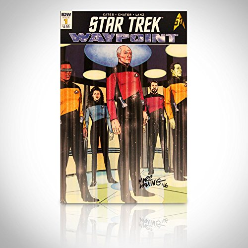 Star Trek Waypoint  1   Hand Signed By Mark Laming  Comic Book