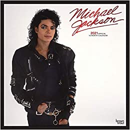 Michael Jackson OFFICIAL 2021 12 x 12 Inch Monthly Square Wall