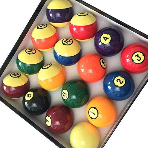 Billar Bolas de Billar 57.2mm 16 Bolas pequeñas Bolas de Resina ...