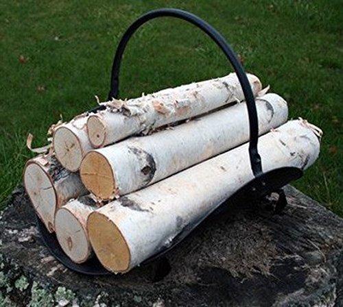 Fireplace Set of White Birch Logs Wilson Enterprises