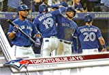 Toronto Blue Jays 2017 Topps Complete Mint Hand Collated Team Set with Jose Bautista, Josh Donaldson and Troy Tulowitzki Plus