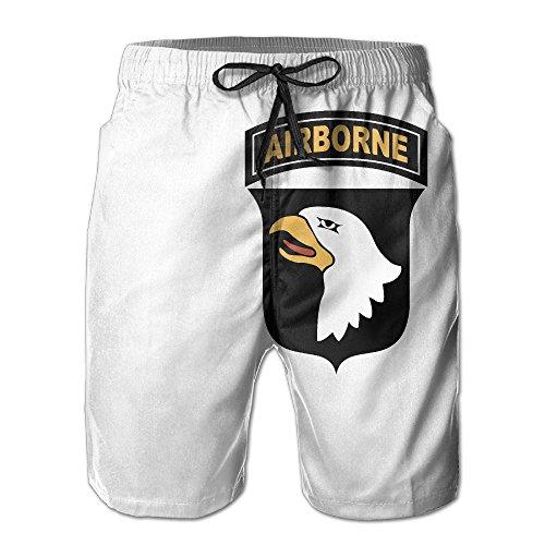 101st Airborne Division (US Army) Printed Men's Beach Shorts Board Swim ()