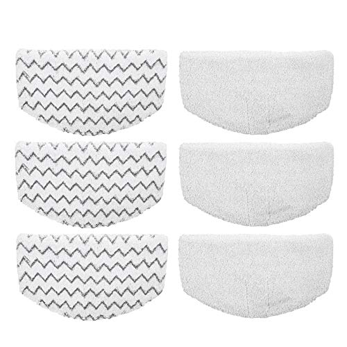 - Aunifun 6 Pcs Washable Steam Mop Pads Replacement for Bissell Powerfresh 1940 Series, 1544A, 2075A, 1440, 1940W, 19404, 1806, 1940A, 5938, 19408, 1940Q