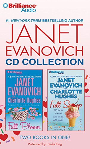 Janet Evanovich CD Collection: Full Bloom, Full ()