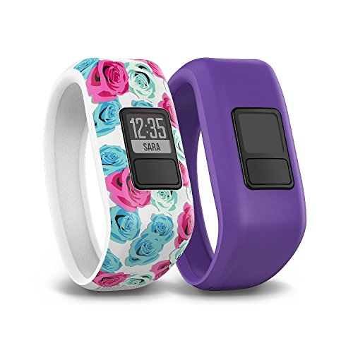 Garmin Vivofit Tracker Flower Purple