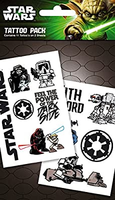 Star Wars Temporary Tattoos (Empire Pack): Amazon.es: Hogar