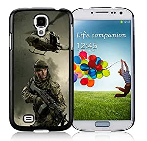 Popular And Durable Designed Case With arma 2 soldiers helicopters flag microphone Black For Samsung Galaxy S4 I9500 i337 M919 i545 r970 l720 Phone Case