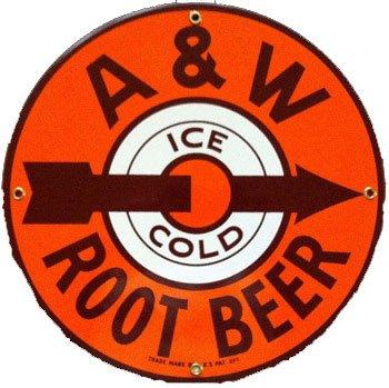 Vintage A&w Root Beer - 8