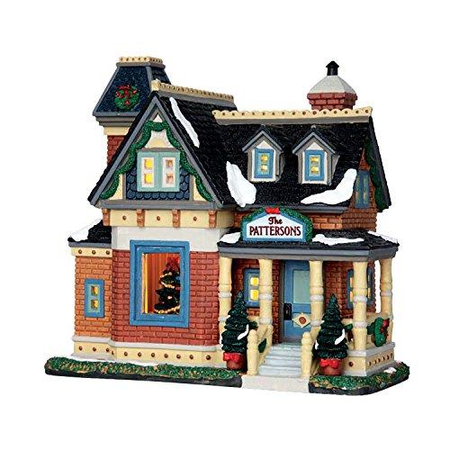 Lemax Christmas At The Pattersons Porcelain Village Building