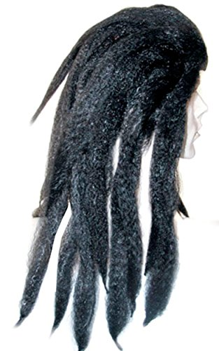 UHC Men's Tarzan Dreadlock Bargain Wig Adult Halloween Costume Accessory -