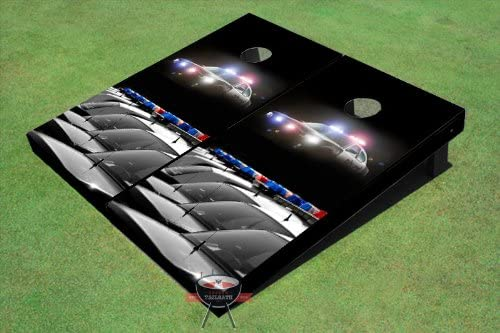 Police CarsテーマCornholeボード