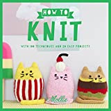 how to make knit - How to Knit: With 100 techniques and 20 easy projects