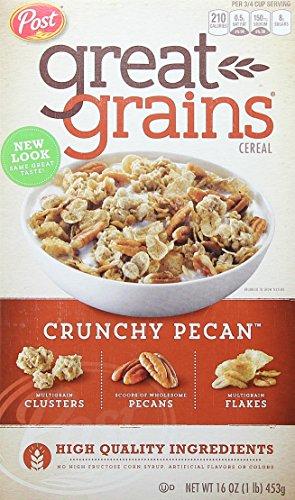 Post Great Grains Crunchy Pecans Whole Grain Cereal 16 oz. Box