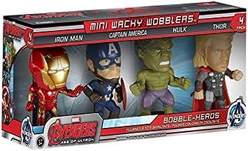 Funko 599386031 - Pack 4 Figuras Marvel - los Vengadores ...