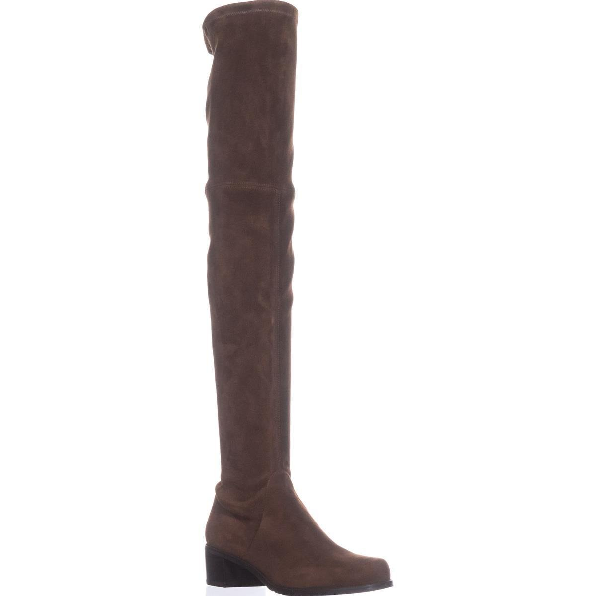 Stuart Weitzman Women's Midland Over The Knee Boot B01C8LU4C2 9 B(M) US|Walnut