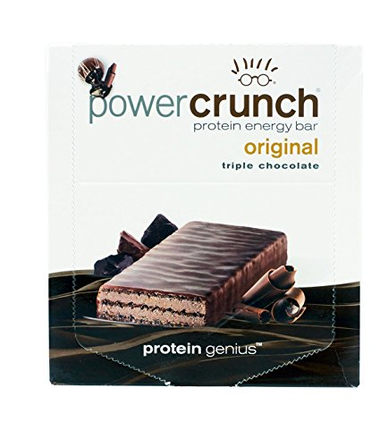 Nutritional Bar Chocolate (Bio-Nutritional Power Crunch, Triple Chocolate 12 cookies)