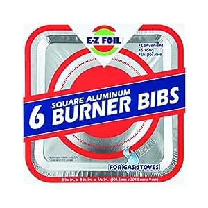 Gas Burner Bib For Stove