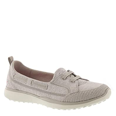 Topnotch Casual Shoes Taupe SKECHERS Microburst Women's Size