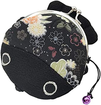 metal frame purse cat/'s face kiss lock purse coin wallet