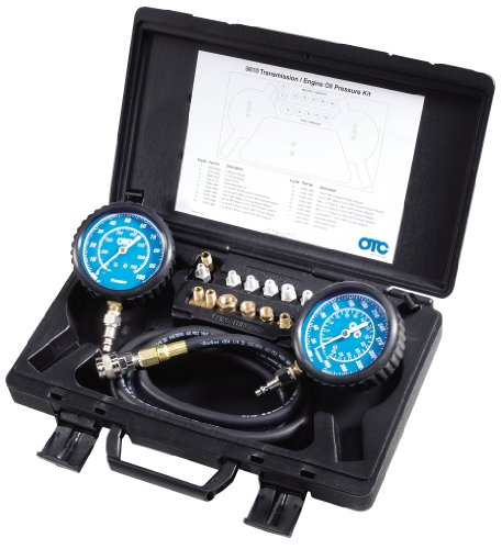 OTC Tools 5610 Trans-Eng Oil Press Tester (Engine Oil Pressure Gauge)