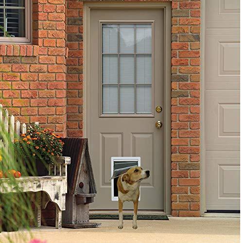 "Ideal Pet Products Designer Series Plastic Pet Door with Telescoping Frame, Medium, 7"" x 11.25"" Flap Size"