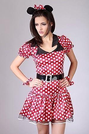Disfraz de carnaval / fiesta sexy para mujer - Minnie Mouse, XXL ...